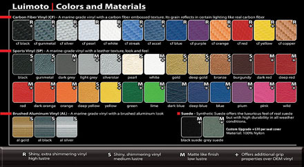 Color Chart - Click to view larger