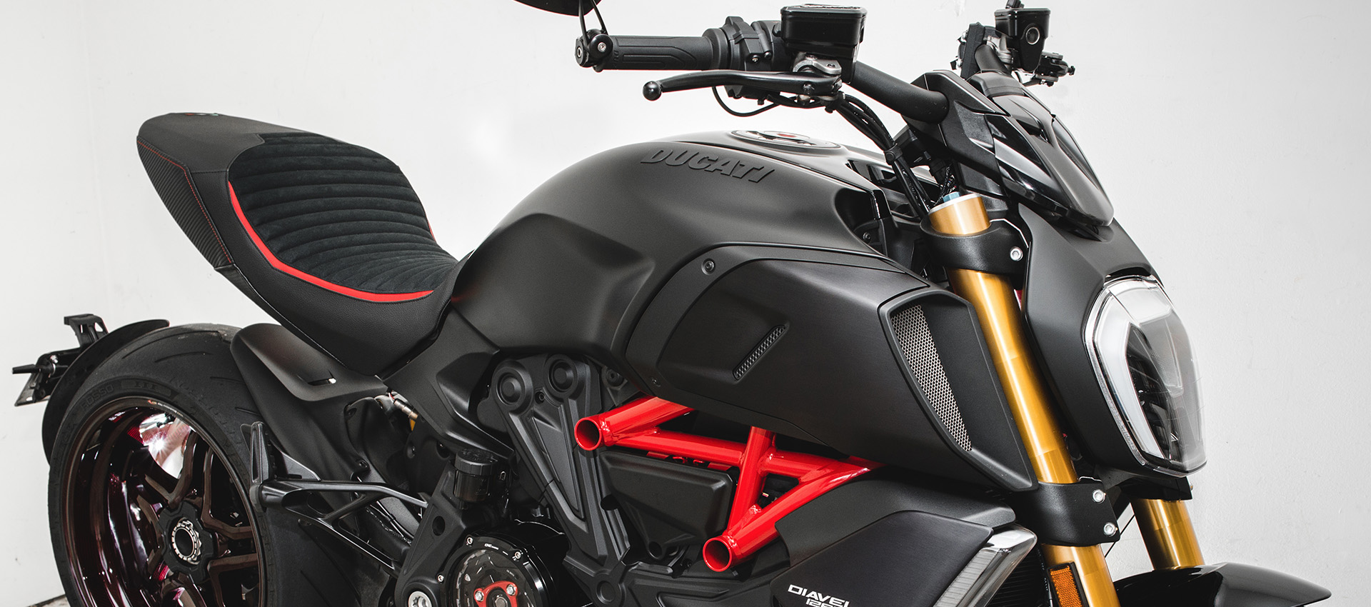 Ducati Diavel 1260 Luimoto Seat Covers