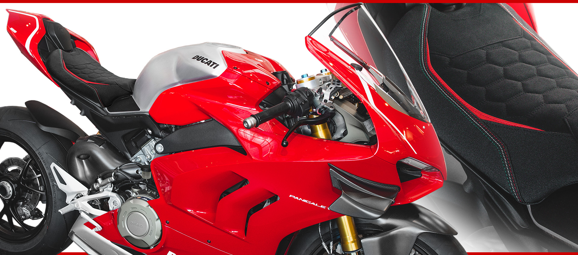 DUCATI PANIGALE V4R HEX-R SEAT COVER