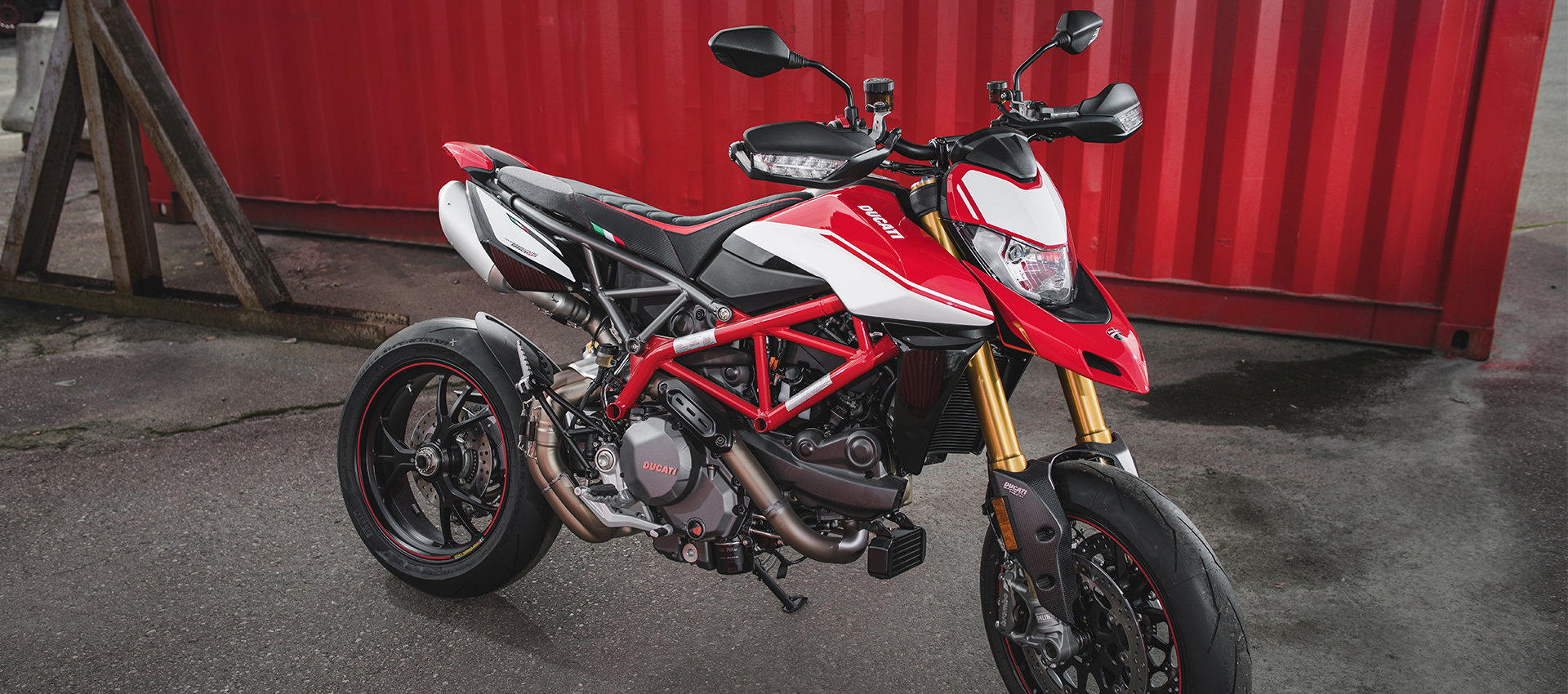 Veloce Seat Covers for the DUCATI HYPERMOTARD 19-21