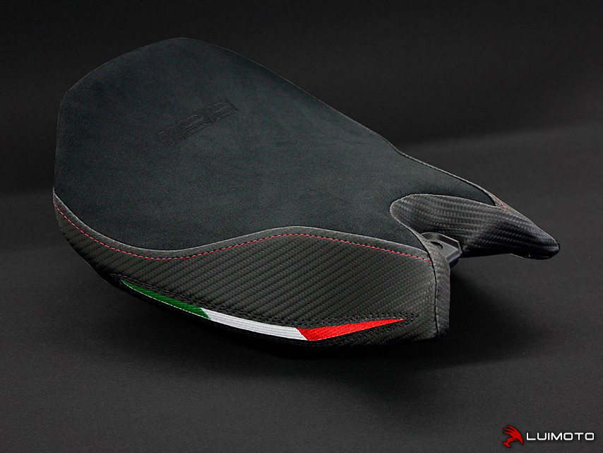 Team Italia Motorcycle Seat Covers For Ducati Panigale
