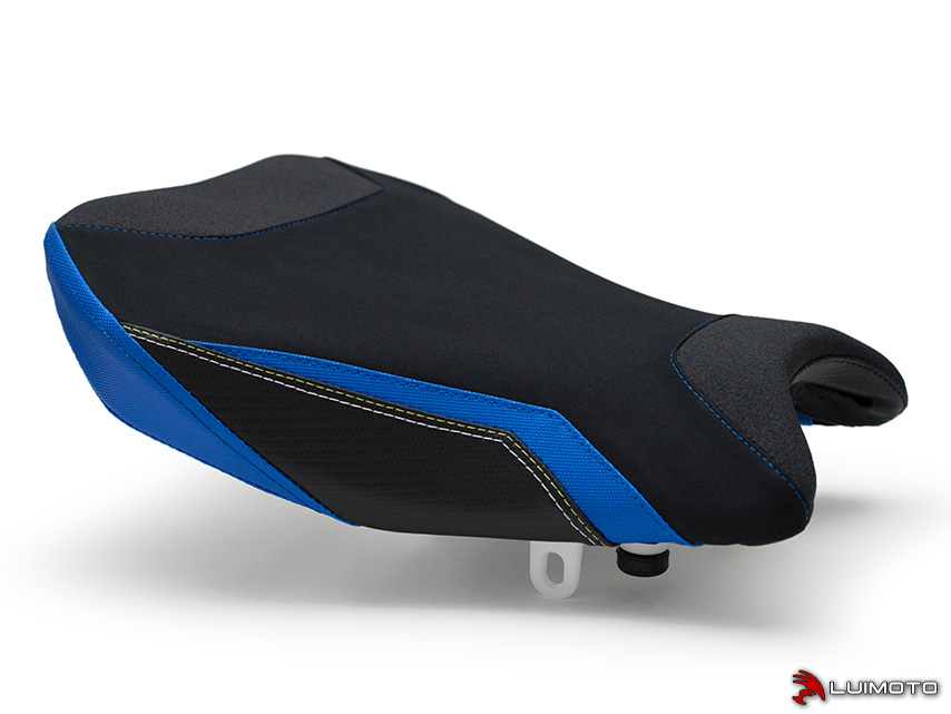 Luimoto Seat Cover for Suzuki GSXR 1000 2009-2016 Blue Red Black Silver GSXR1000 by Sixty61